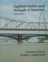 Cover image for Applied statics and strength of materials