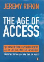 Cover image for The age of access : how the shift from ownership to access is transforming capitalism