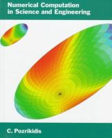 Cover image for Numerical computation in science and engineering