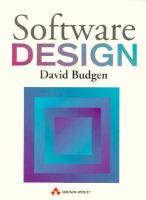 Cover image for Software design