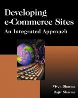 Cover image for Developing e-commerce sites : an integrated approach