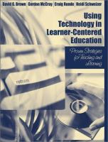 Cover image for Using technology in learner-centered education : proven strategies for teaching and learning