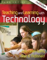 Cover image for Teaching and learning with technology