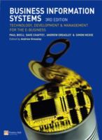 Cover image for Business information systems : technology, development and management for the e-business