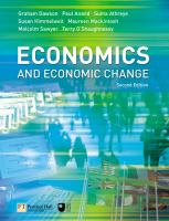 Cover image for Economics and economic change