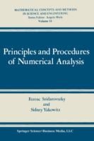 Cover image for Principles and procedures of numerical analysis