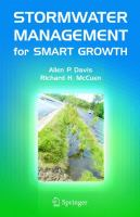 Cover image for Stormwater management for smart growth