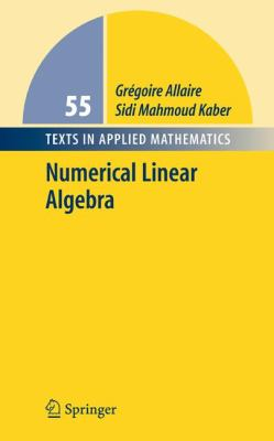 Cover image for Numerical linear algebra
