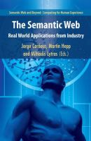 Cover image for The semantic web : real-world applications from industry