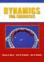 Cover image for Dynamics for engineers