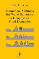 Cover image for Numerical methods for wave equations in geopysical fluid dynamics