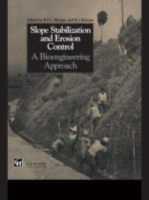 Cover image for Slope stabilization and erosion control: a bioengineering approach