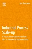 Cover image for Industrial process scale-up : a practical guide from idea to commercial implementation
