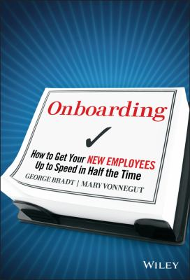 Cover image for Onboarding : how to get your new employees up to speed in half the time