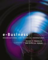 Cover image for E-business : organizational and technical foundations
