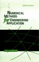 Cover image for Numerical methods for engineering application