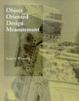 Cover image for Object-oriented design measurement