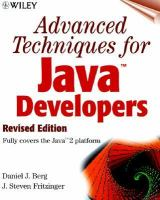 Cover image for Advanced techniques for Java developers