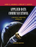 Cover image for Applied data communications : a business-oriented approach