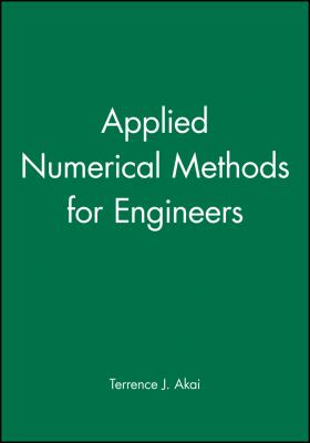 Cover image for Applied numerical methods for engineers