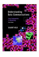 Cover image for Understanding data communications :  from fundamentals to networking