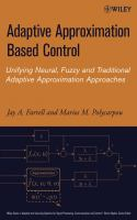 Cover image for Adaptive approximation based control : unifying neural, fuzzy and traditional adaptive approximation approaches