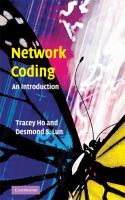 Cover image for Network coding : an introduction