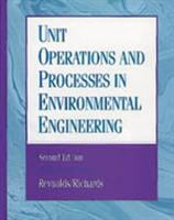 Cover image for Unit operations and processes in environmental engineering
