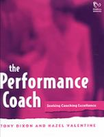 Cover image for The performance coach : seeking coaching excellence