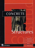 Cover image for Concrete structures