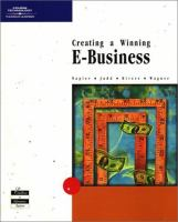 Cover image for Creating a winning E-Business