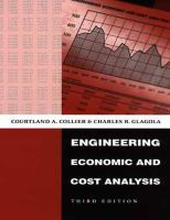 Cover image for Engineering economic and cost analysis