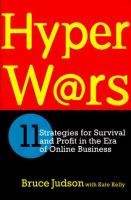 Cover image for HYPERWARS : Eleven Strategies for Survival and Profit in the Era of Online Business