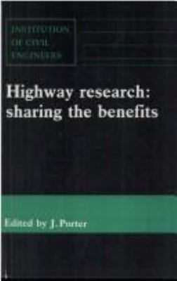 Cover image for Highway research : sharing the benefits