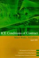 Cover image for ICE conditions of contract for minor works