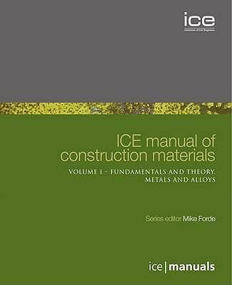 Cover image for ICE manual of construction materials