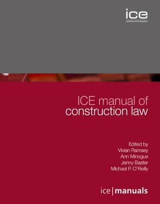 Cover image for ICE manual of construction law