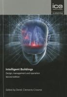 Cover image for Intelligent buildings : design, management and operation