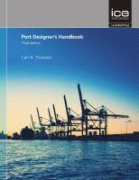 Cover image for Port designer's handbook