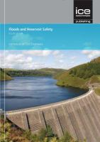 Cover image for Floods and reservoir safety