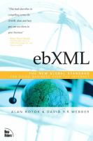 Cover image for ebXML:  the new global standard for doing business on the internet