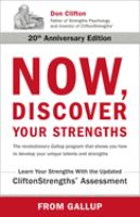 Cover image for Now, discover your strengths