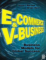 Cover image for E-Commerce and v-business :   business models for global success