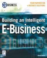 Cover image for Building an intelligent e - business