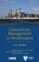 Cover image for Concentrate management in desalination : case studies