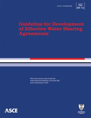 Cover image for Guidelines for development of effective water sharing agreements