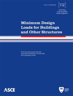 Cover image for Minimum design loads for buildings and other structures