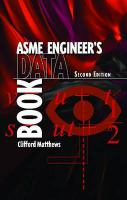 Cover image for ASME engineer's data book