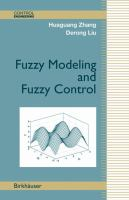 Cover image for Fuzzy modeling and fuzzy control