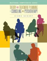 Cover image for Theory and treatment planning in counseling and psychotherapy